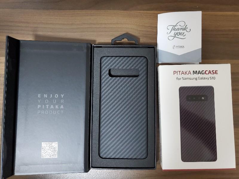 pitaka magcaseの同梱品一覧